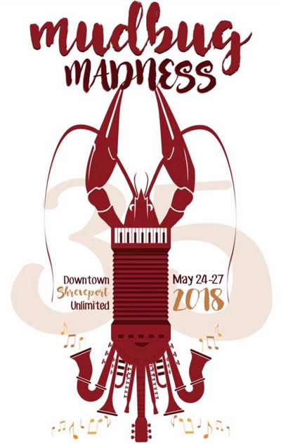 click for more information about Mudbug Madness in Shreveport